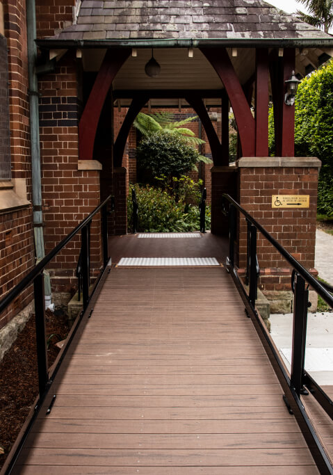 Ramp and Rails for Home