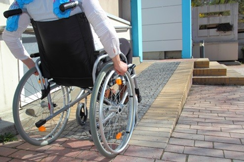 anti slip surfaces for wheelchair ramp