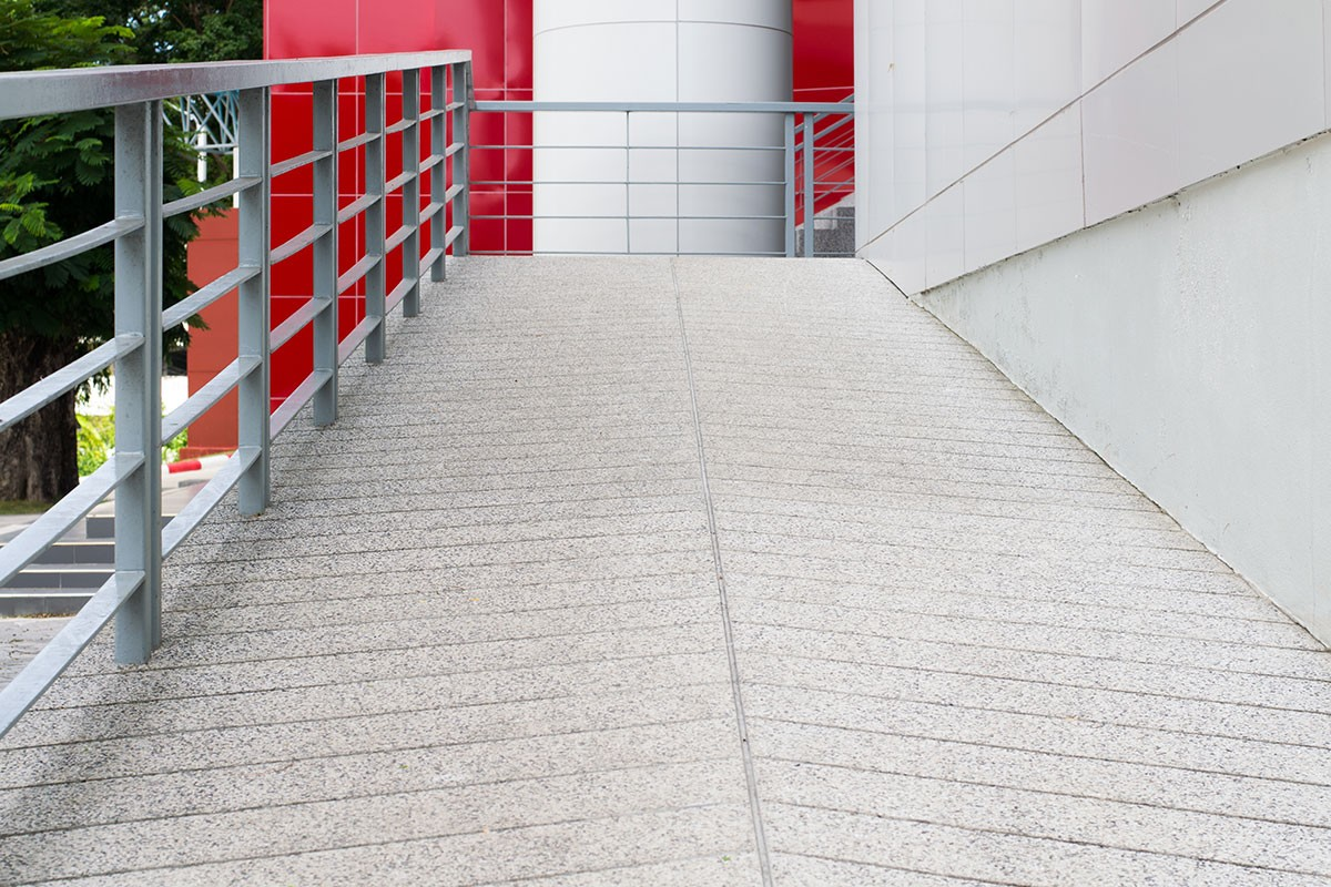 safety aspects for wheelchair ramp