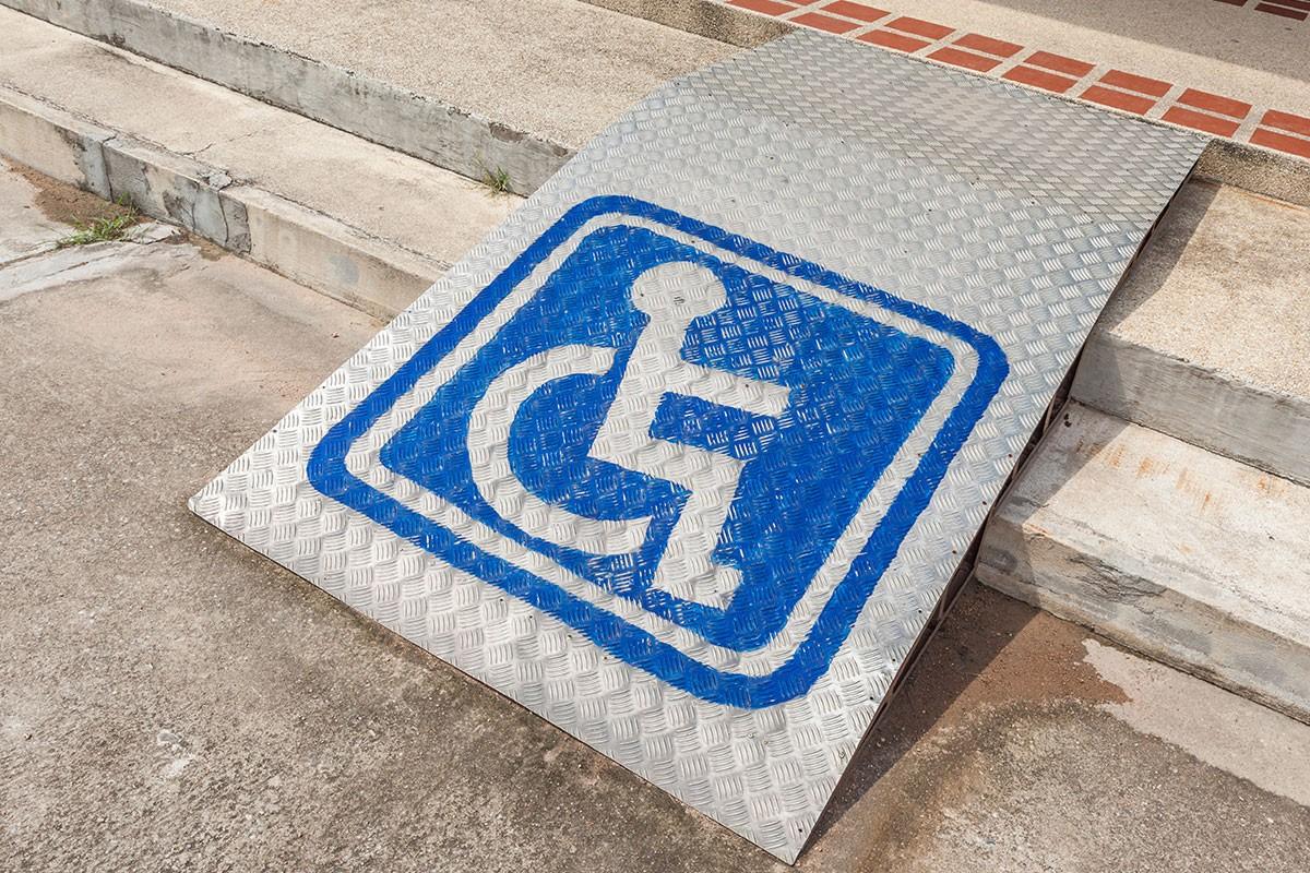 manual lightweight disability ramps