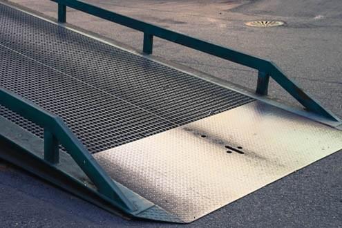 constructing wheelchair ramp