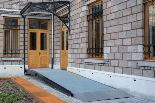 commercial and residential wheelchair ramps