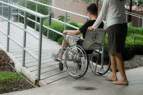 different types of wheelchair ramps