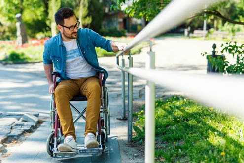 safety tips for wheelchair on ramps