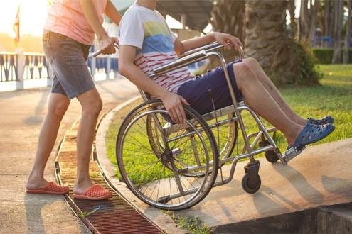 wheelchair ramp construction safety