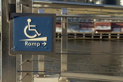 wheelchair ramp layouts