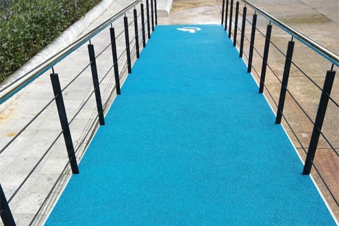 materials for disability ramps