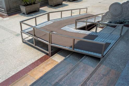 anti slip outdoor ramps